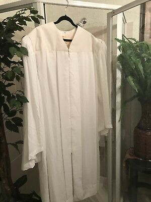 Lot Of 3 Xxl -Xxxl White Choir/clergy Robes -Price Reduced!!!!!