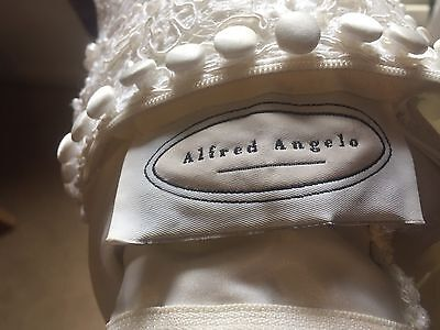 Wedding Dress Alfred Angelo Cream Pearl