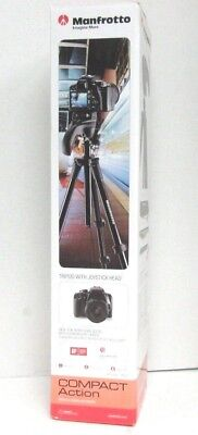 Manfrotto MKCOMPACTACN-BK Compact Action Tripod Black