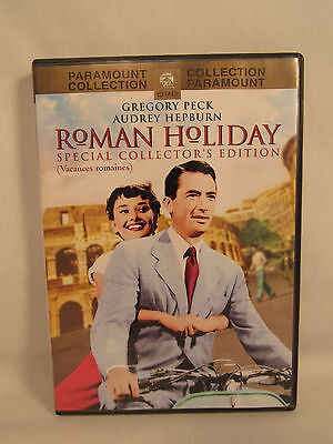 Roman Holiday Special Collector's Edition DVD Gregory Peck Audrey Hepburn 1953