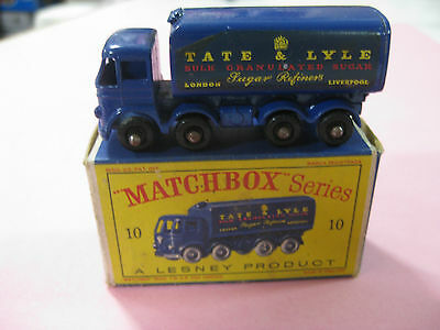 Vintage 60/70´s Matchbox Lesney Sugar Container Nº10