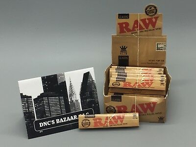 1 Pack of Classic King Size Slim Papers by Raw Natural Unrefined Rolling Papers