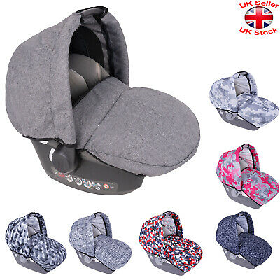 Universal HOOD FOOTMUFF Apron Wind Shield Canopy Shade BABY CAR SEAT COVER