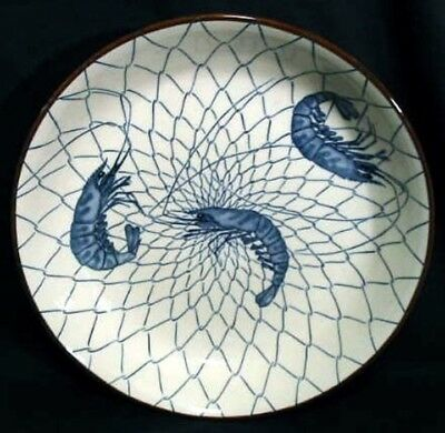 """Stunning vintage Japanese Porcelain Charger Plate / Dish Signed 12 x 2"""" REDUCED"""