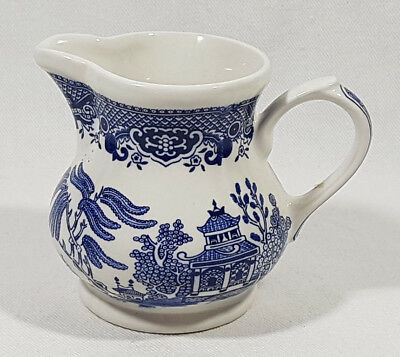 Churchill England Creamer #27 Blue Willow
