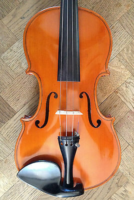 Violin GUERRINO CARLINI, TORINO 1989, 2 SOUND SAMPLE! old italian antico