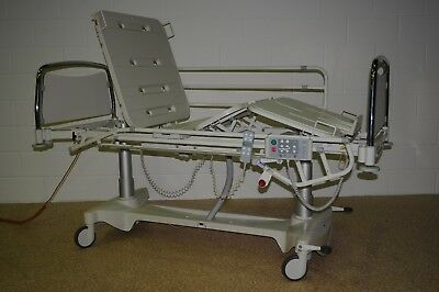 LINET Eleganza 3000 Standard Electric Profiling Bed Hospital Disability Care CPR