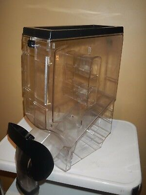 Gravity Coffee Bean Dispenser Bin  Cereal Display Container