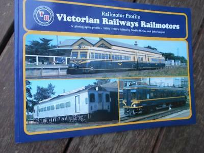 Scarce 1st ed 1950 1980 Victorian Railways VR Railmotors stations history train