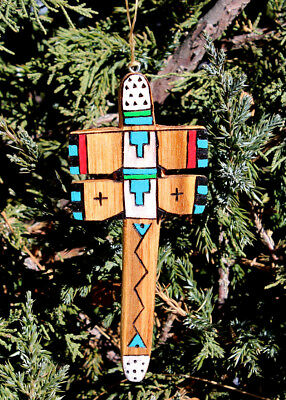 HAND CARVED DRAGONFLY ORNAMENT by ALAN LEWIS - ZUNI