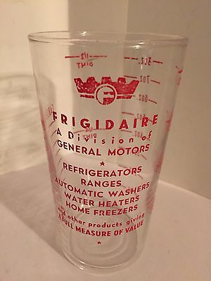 Vintage Measuring Glass Frigidaire A Division Of General Motors Advertising