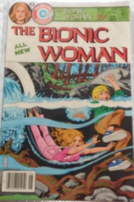 THE BIONIC WOMAN COMIC BOOK- #5- 1970's TELEVISION  SHOW