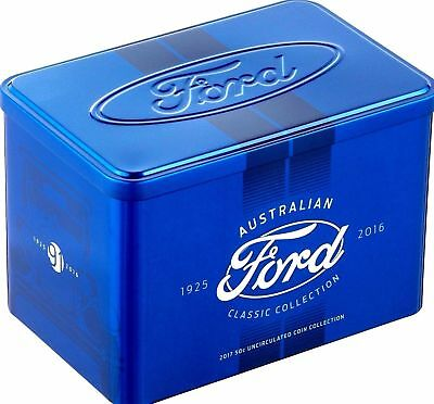 ** Empty Tin ** 2017 Ford Australian Classic Collection Empty Tin (No Coins)