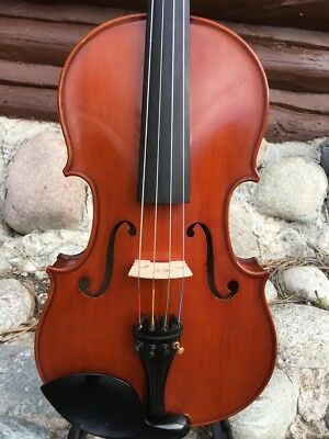 "Vintage Viola 15 1/2"", No Label, Probably German"