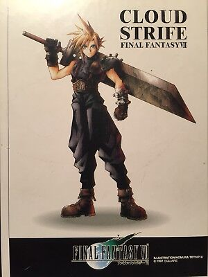 Cloud Strife Final Fantasy VII Jigsaw Art Puzzle pre-owned