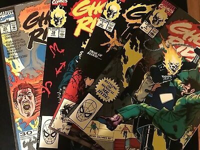 Ghost Rider 1990 2nd Series Marvel Comics  Books 4 7 10 25 VF/NM