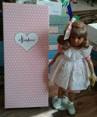 "Beautiful Effanbee Gloria Ann Dewees Cochran 19"" Durable Doll w Box & Tags"