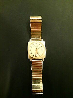 Vintage Lucerne Calendar Mechanical Windup Watch