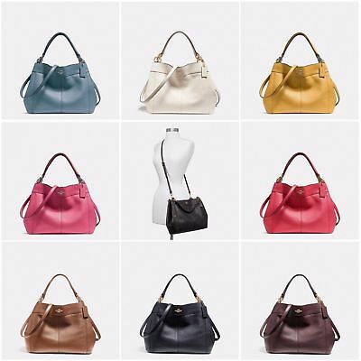faef8210cfae New Coach F23537 F28992 Small Lexy Shoulder Bag In Pebble Leather New With  Tags