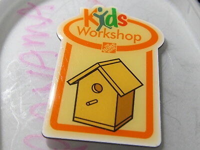 home depot collectibles home depot kids workshop  lapel pin