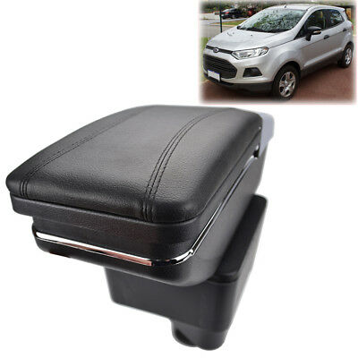 Storage Box For Ford Ecosport 2013-2017 Armrest Arm Rest Rotatable