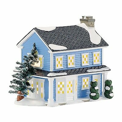 "Department 56 Snow Village ""Todd & Margo's House""  'Christmas Vacation' NIB RARE"