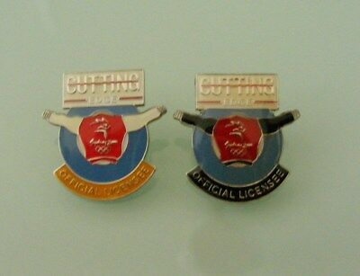 Olympic Pins   Rear 2  Cutting  Edge  Official  Licensee
