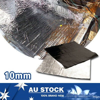 2M x 1M Automotive Heat Sheild Insulation Car Sound Deadener Noise Proofing 10mm