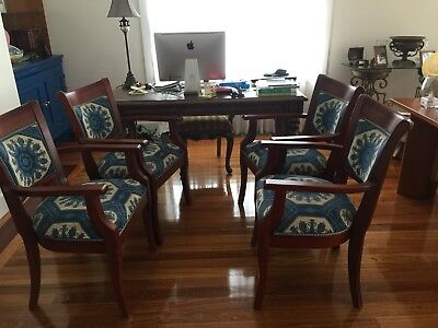 4 Italian Chippendale Armchairs