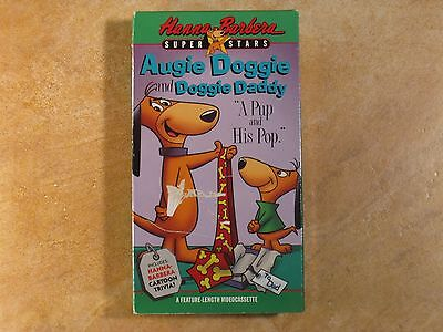 Augie Doggie And Doggie Daddy Vhs Rare! 1St Edition Release 1991 Hanna Barbera