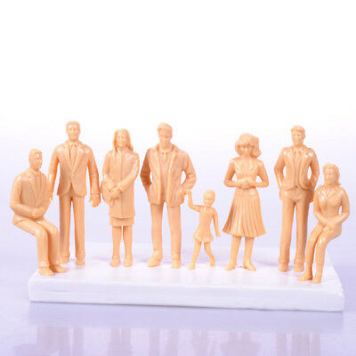 Model People Painted Figurine 1:25,1:30,1:50 Miniature People Guage Layout Mixed