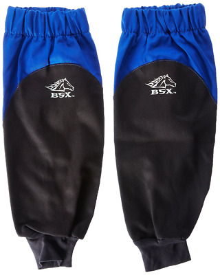 Revco BX9-19S-RB BSX Reinforced Fire Resistant Sleeves, Royal Blue/Black  (One P