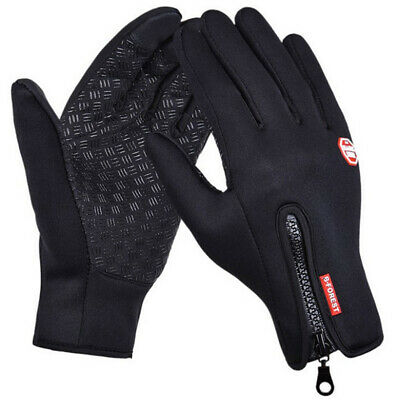 Outdoor Cycling Touch Screen Gloves Waterproof Jogging Camping Hiking Running
