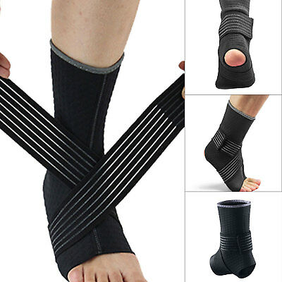 Ankle Support Strap Neoprene Compression Wrap Brace Bandage Sport Protector