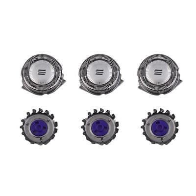3X Replacement Single Blade Shaver Heads For Philips Norelco HQ8 Electric Razor♡