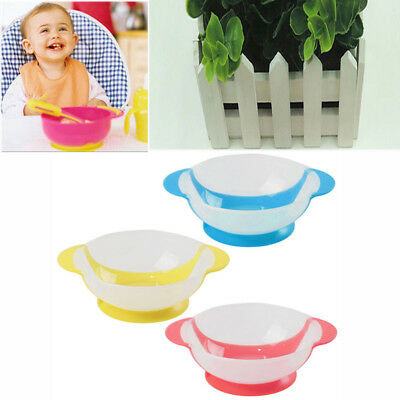 Baby Kids Silicone Bowl Dish Suction Table Food Tray Mat Placemat Plate Feeding