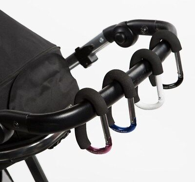 My Buggy Buddy Clip ORIGINAL, Bugaboo, Oyster, Quinny Black, Pink, Blue or White
