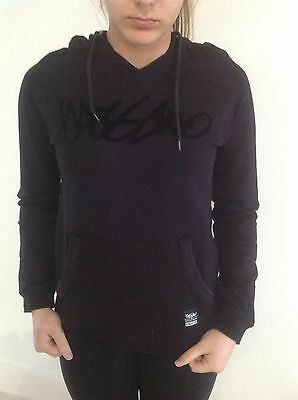 Mossimo Girls Windcheater With Hoodie   Size 10 Black Colour