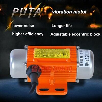 Vibration Motor AC220V 30-120W 1ph Asynchronous Vibrating Motor Vibrator 3600RPM