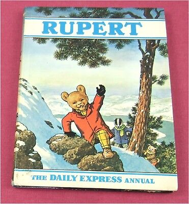 **EXCELLENT**Vintage Rupert Annual 1970 unclipped uninscribed + BESTALL obituary