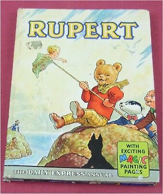 **V GOOD** Vintage Original Rupert Annual 1963 unclipped illustrated A Bestall