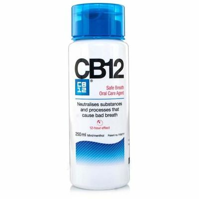 CB12 Mint-Menthol Mouthwash 250ml 1 2 3 6 12 Packs