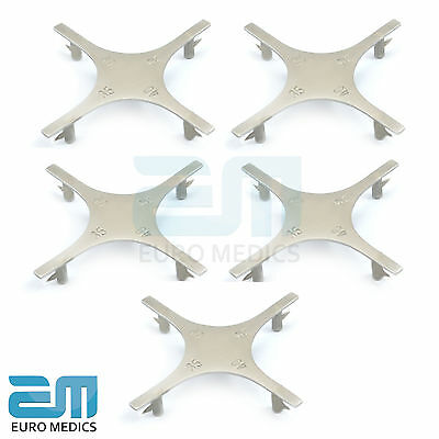 Set Of 5 Dental Star Gauge Bracket Boone Orthodontic Accurate Placement Tools