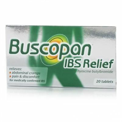 Buscopan IBS Relief Tablets 20 Tablets 1 2 3 6 12 Packs