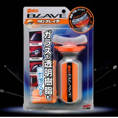 Glaco Blave strong water repellent for glass and plastics Japan