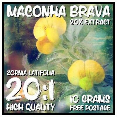 Maconha Brava | (Zornia Latifolia) 20x Extract Powder [10 Grams]