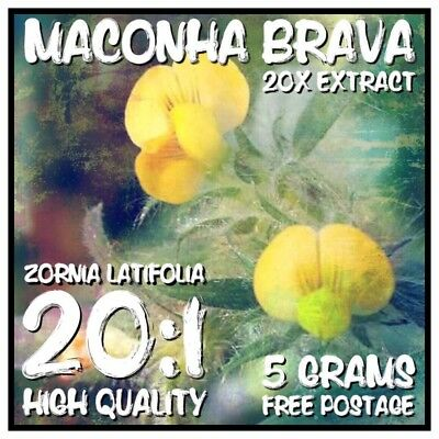 Maconha Brava | (Zornia Latifolia) 20x Extract Powder [5 Grams]