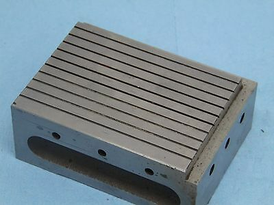 Machinist grinding milling Toolmakers Bench Block 4x3x1 9/16 precision ground