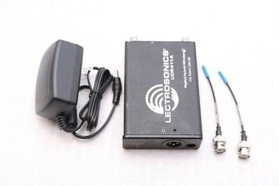 Lectrosonics UCR411A UHF Wireless receiver Block 26 with power supply