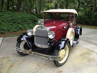 1929 Ford Model A Deluxe 1929 ford model A